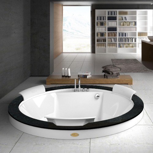 baignoire ronde originale